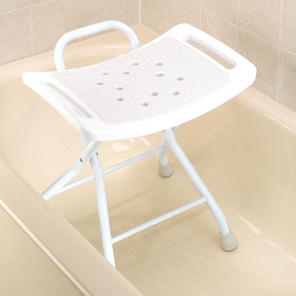 Folding Bath Bench - View 1