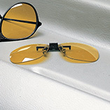 Handbags, Wallets & Travel - Night Driving Clip On Glasses