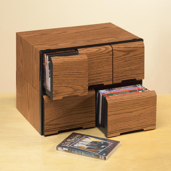 Stackable CD Cabinet