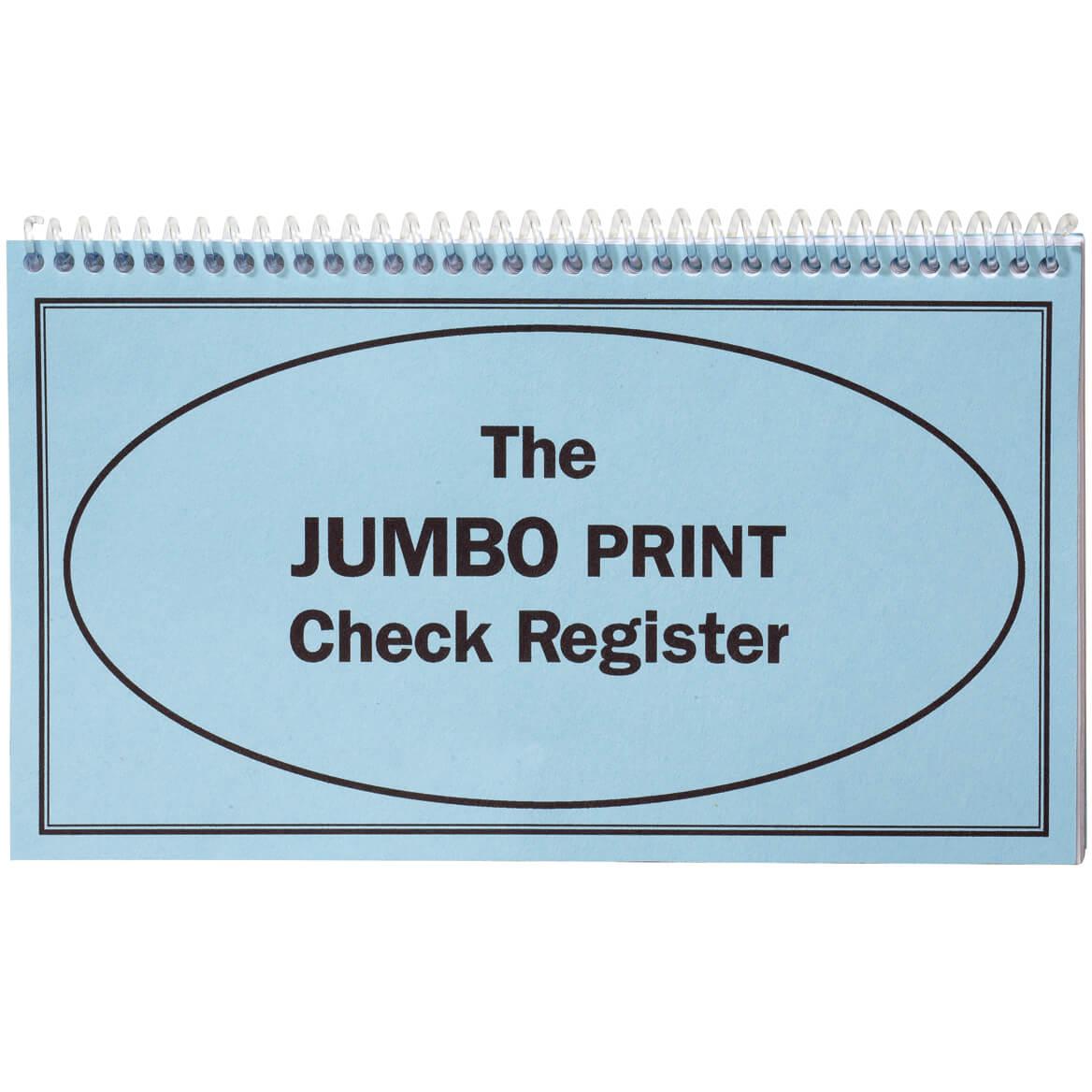 large print check register check register miles kimball