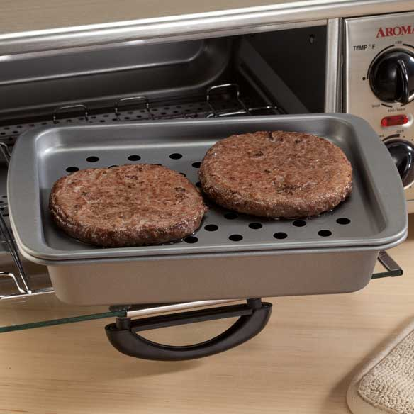 Toaster Oven Broiling & Baking Pan