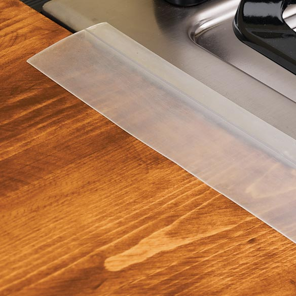 Countertop To Stove Gap Cover : Silicone Kleen Seam - Gap Between Stove And Counter - Miles Kimball