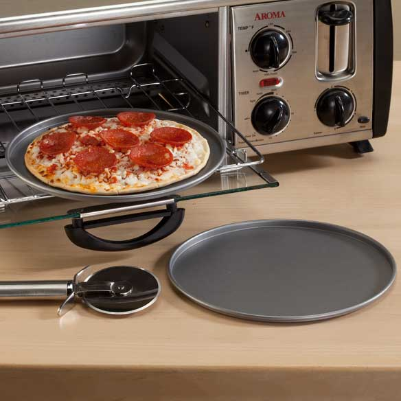 Toaster Oven Pizza Pans - Set Of 2