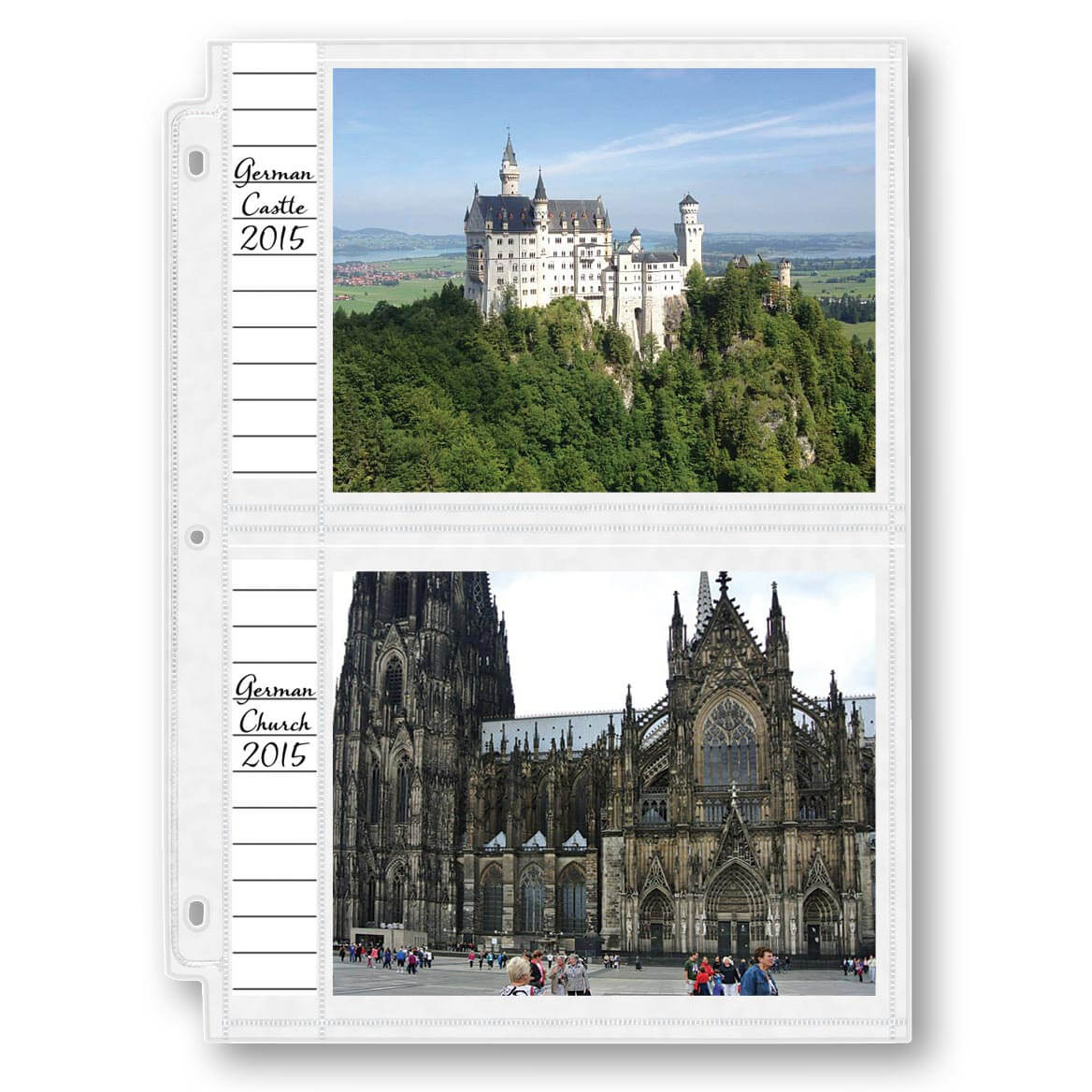 """Photo Album Pages – Double-Weight 5"""" x 7"""" Photo Pages-309361"""