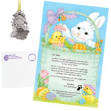 Easter - Letter And Gift From The Easter Bunny