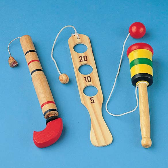 Wooden Toy Set - Set of 3