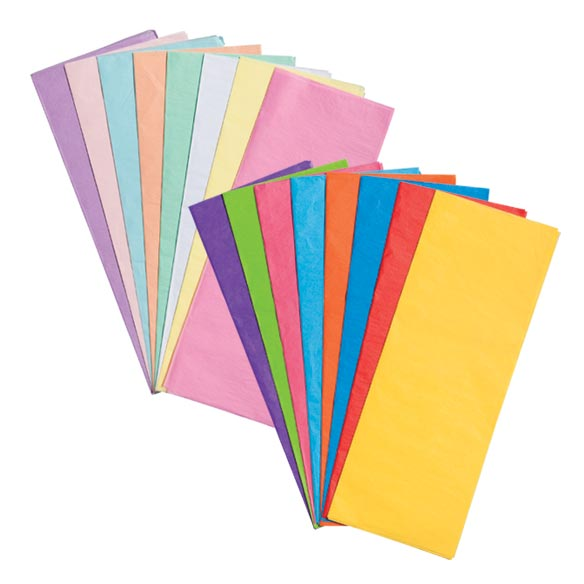 Colored Tissue Paper Set