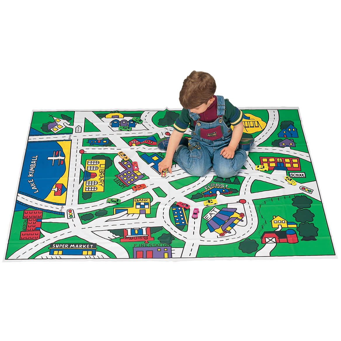 Toy Car Floor Mat