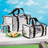 Patio & Grill - Insulated Tote Bags
