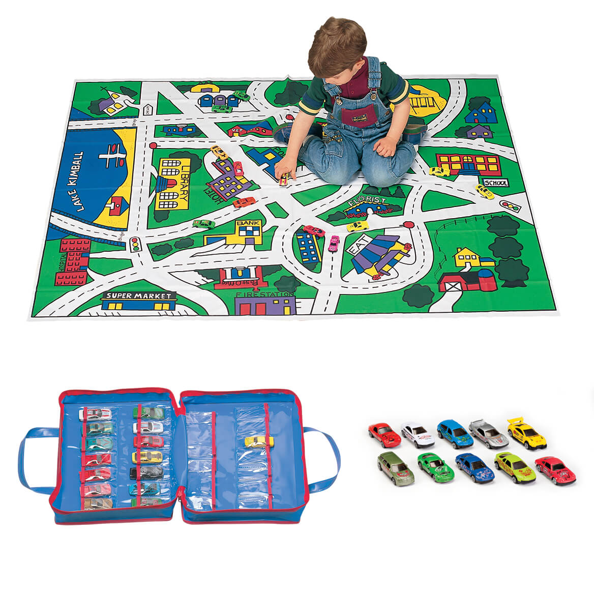Toy Car Floor Mat Toy Car Mat Cars Floor Play Mat Miles Kimball