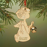 Ornaments - Personalized Angel Ornament