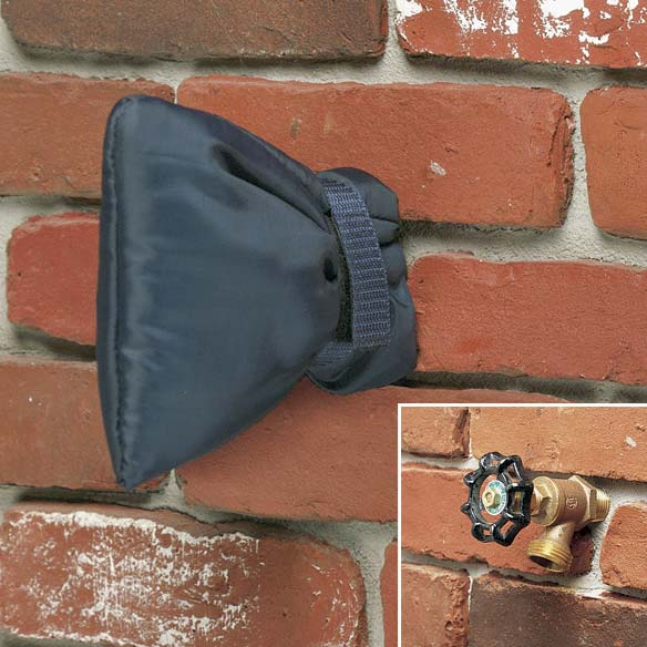 Outdoor Faucet Cover Faucet Sock Miles Kimball
