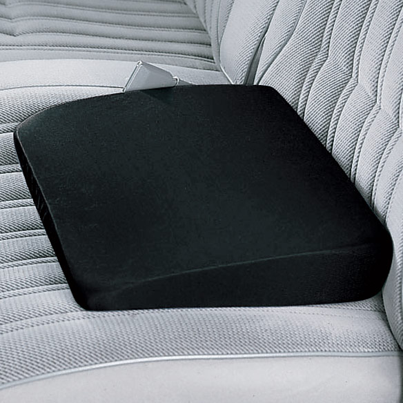 Slanted Seat Cushion Cover - Black