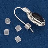 Bonus Buys - Rubber Earring Backs - Set Of 12