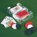 Puzzles, Games & Playing Cards - Revolving Card Holder