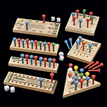 Stocking Stuffers - Wooden Peg Games