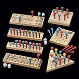 Stocking Stuffers - Wooden Peg Games