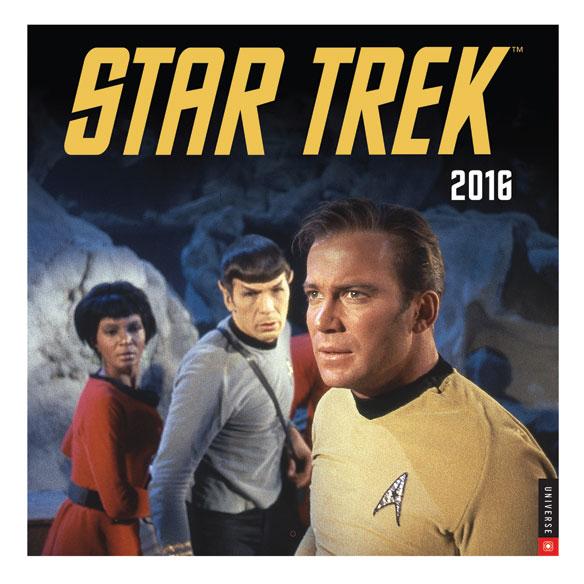 Star Trek (R) Wall Calendar