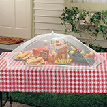 Patio & Grill - Picnic Size Food Umbrella