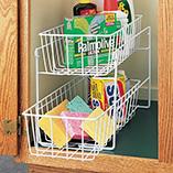 View All Storage & Holders - Two Level Sliding Shelf