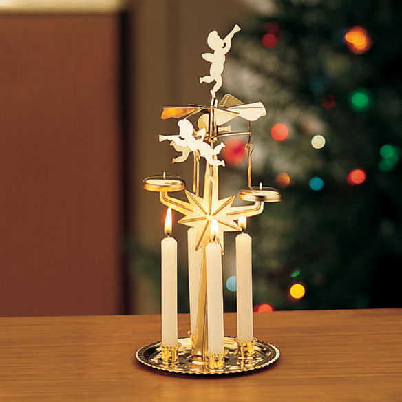 Angel Christmas Candle Carousel
