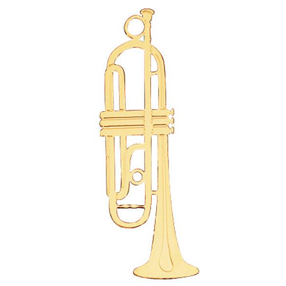 Musical Instrument Ornament Trumpet