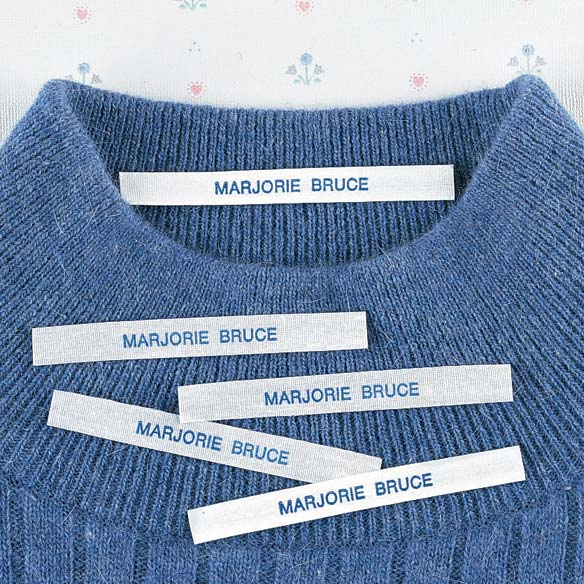 Iron On/Sew On Clothing Name Labels