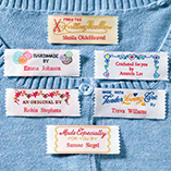 Apparel, Wallets & Jewelry - Personal Handiwork Labels - Pack Of 20