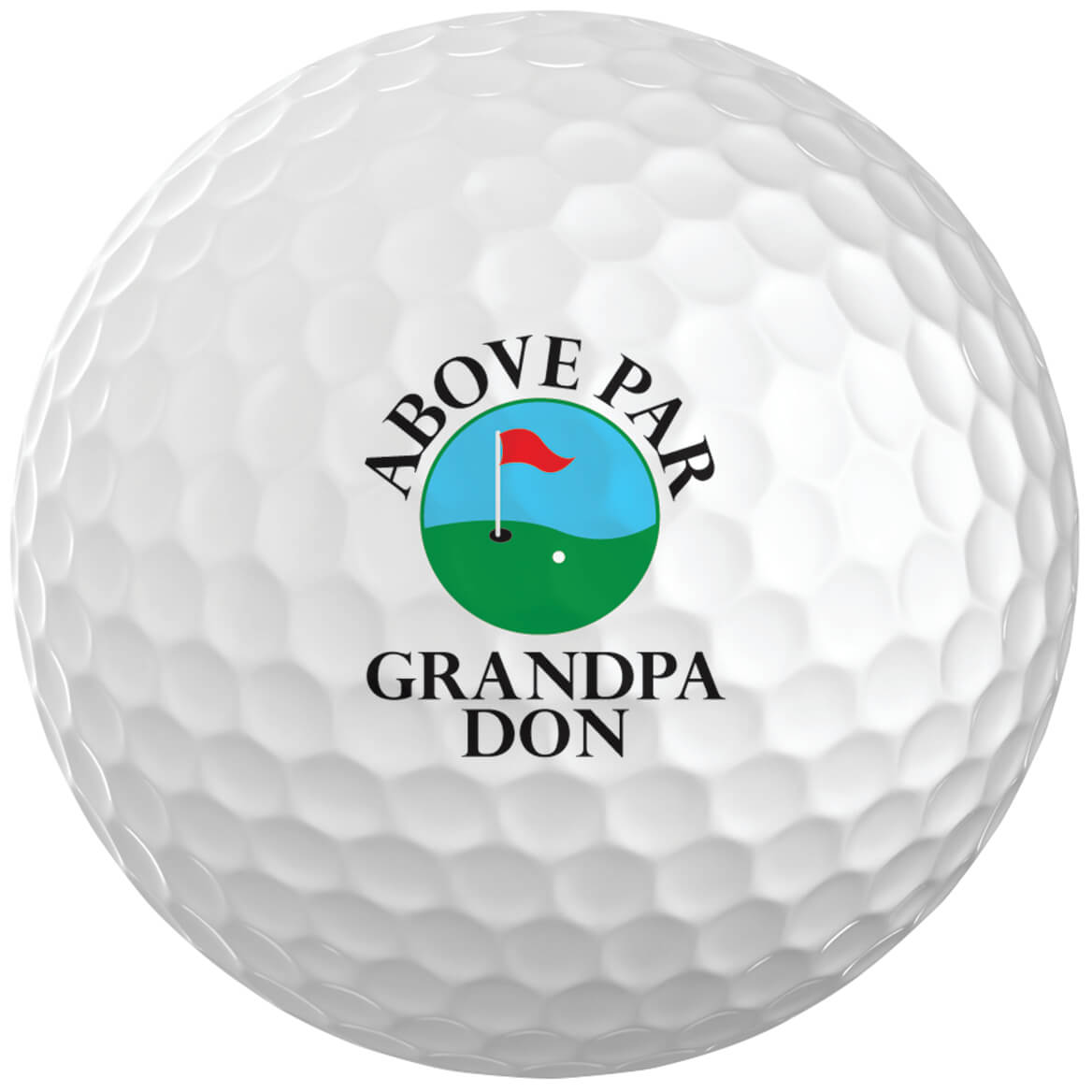 Personalized Golf Balls Entertainment Leisure Miles Kimball