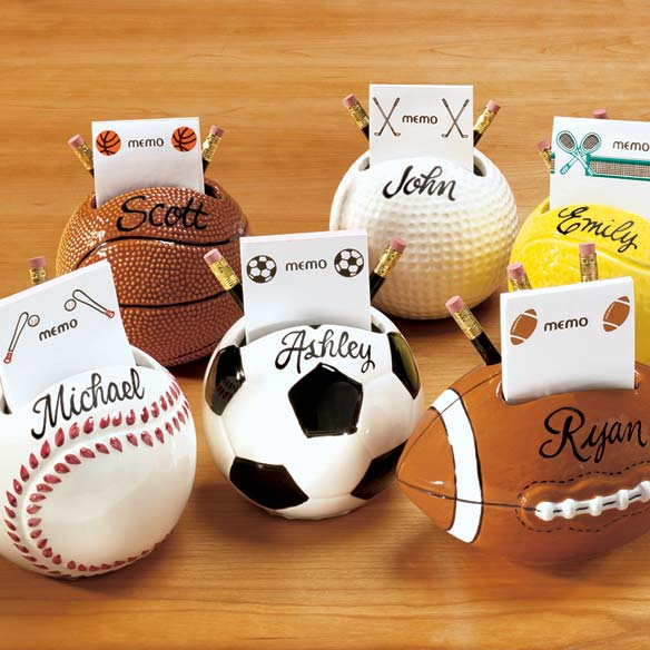 Sports Memo Holder - View 1