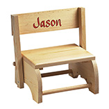 Children's Gifts & Leisure - Wooden Personalized Childrens Chair