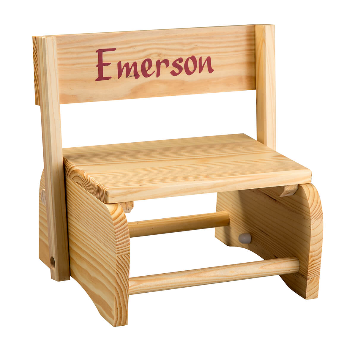 Personalized Child's Wooden Chair