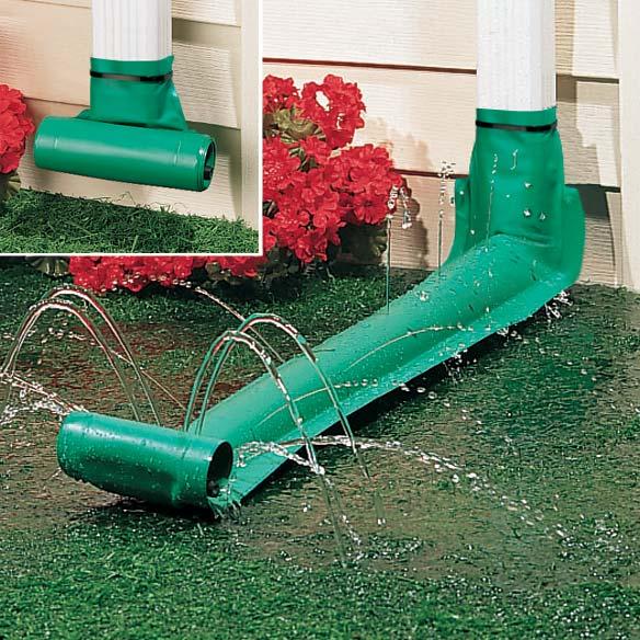 Universal Rain Drain Gutter Downspout Extensions Miles
