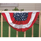 4th of July - Patriotic American Flag Bunting