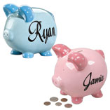 Personalized - Personalized Kids Piggy Bank