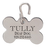 Pet Toys & Supplies - Dogbone Shaped Pet ID Tag