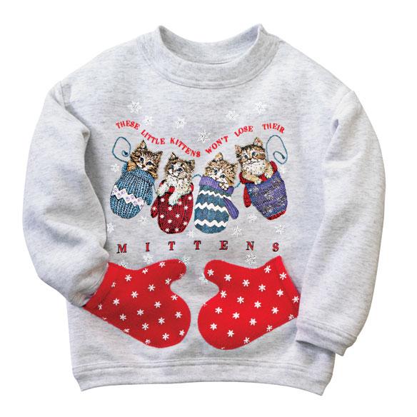 Kitten Mittens Sweatshirt