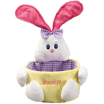 Easter dcor gifts outdoor easter decorations miles kimball personalized easter basket 311180 negle Images