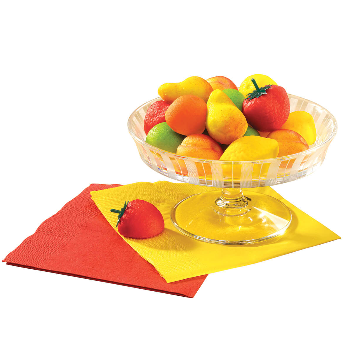 Mixed Fruit Marzipan Candy 8 oz.
