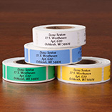 Address Labels & Seals - Colorful Address Labels - Roll Of 250