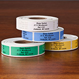 Address Labels & Seals - Colorful Address Labels - Roll Of 500