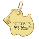 Pet Toys & Supplies - Mouse Shaped Pet ID Tag