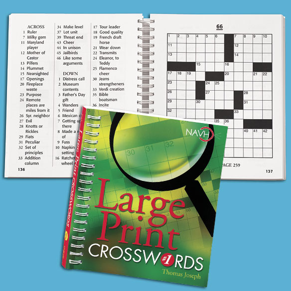 Large-Print Crosswords