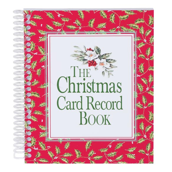 christmas card address book online