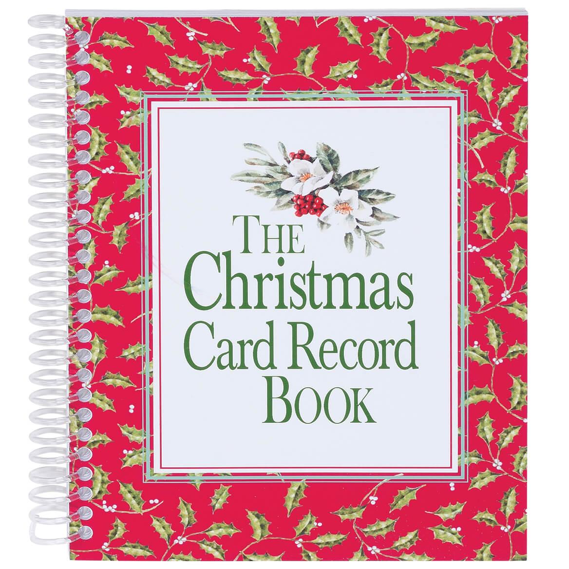 Christmas Card Record Book-311372