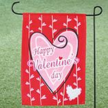 Valentines Day - Valentine Garden Flag