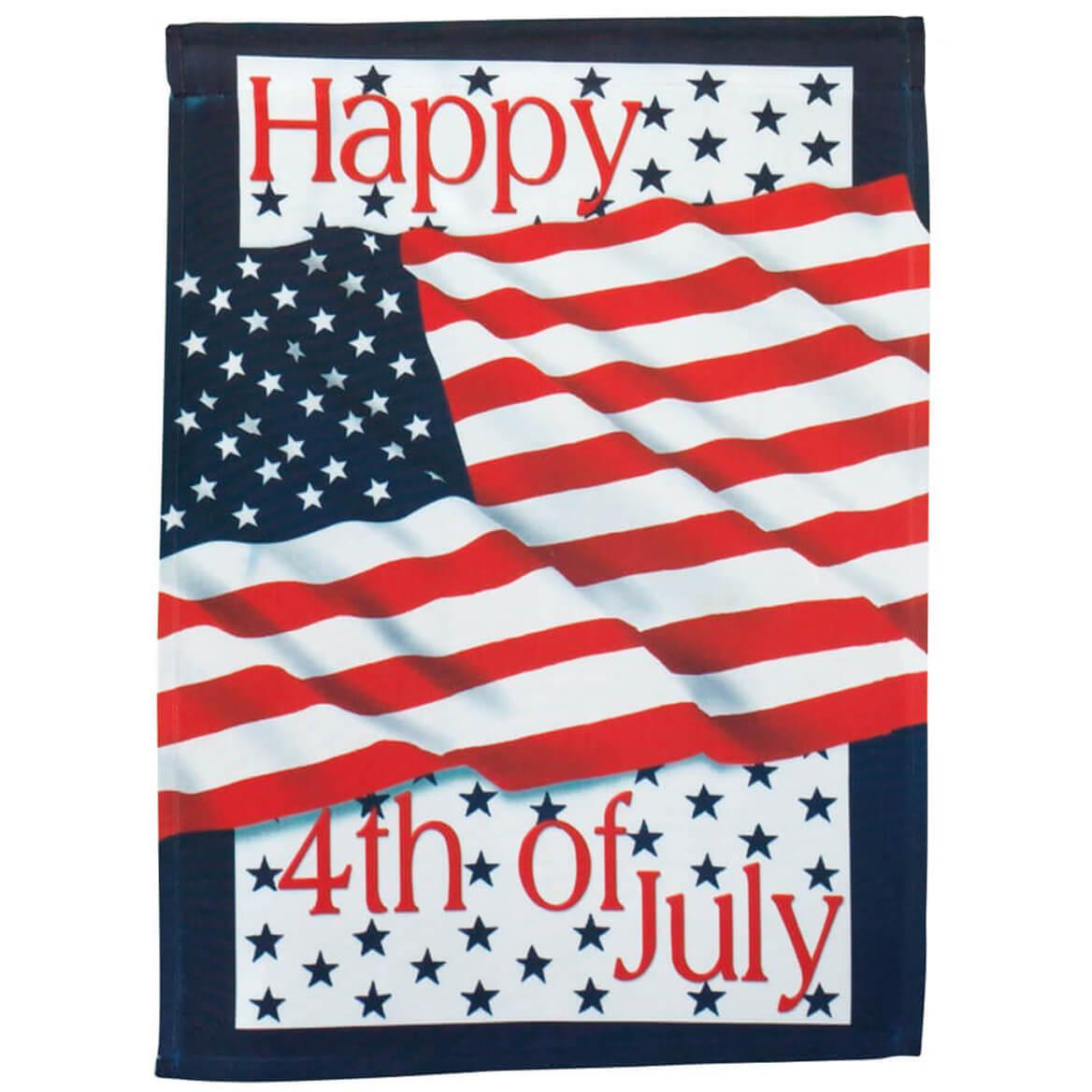Mini Banner American Flag