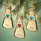 Ornaments - Personalized Angel Christmas Ornament