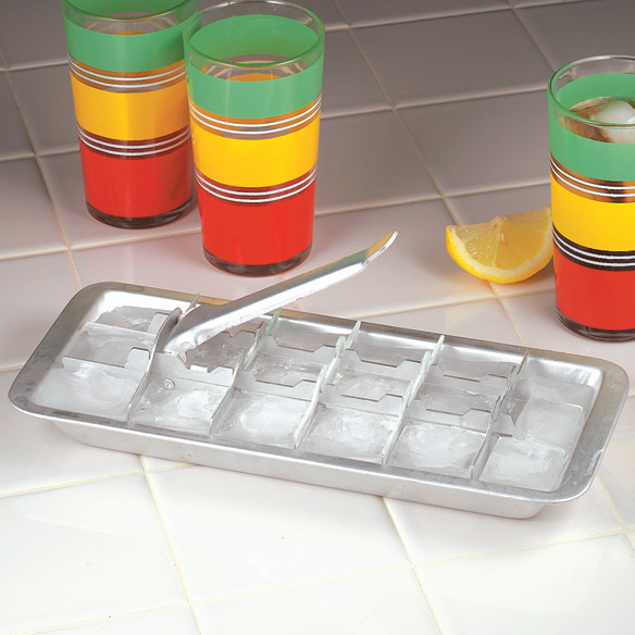 Aluminum Ice Cube Tray - View 1