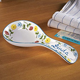 Home - Personalized Flower Spoon Rest